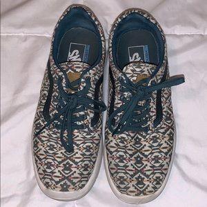 Vans Patterned Sneakers (8)
